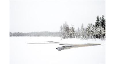 핀란드의 겨울